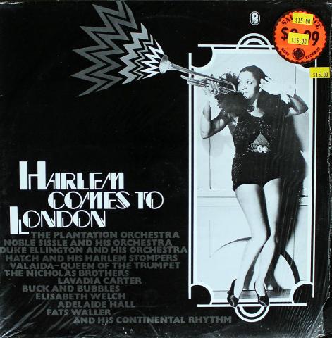 "Harlem Comes To London Vinyl 12"""