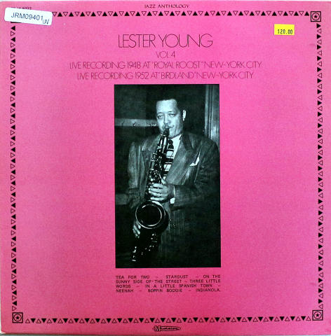 """Lester Young Vinyl 12"""""""