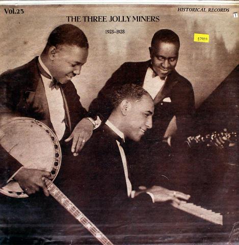 "The Three Jolly Miners Vinyl 12"""