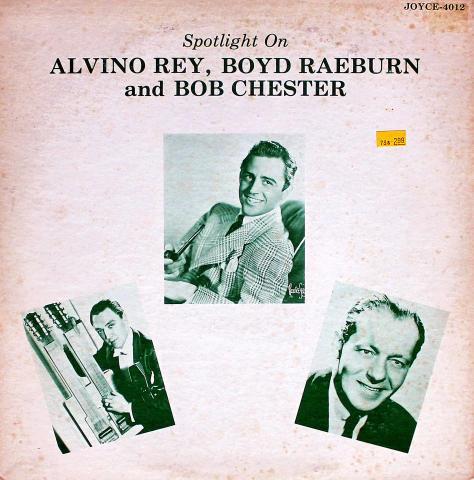 """Alvino Rey / Boyd Raeburn / Bob Chester Vinyl 12"""""""