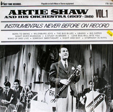 Artie Shaw and His Orchestra Vinyl 12""
