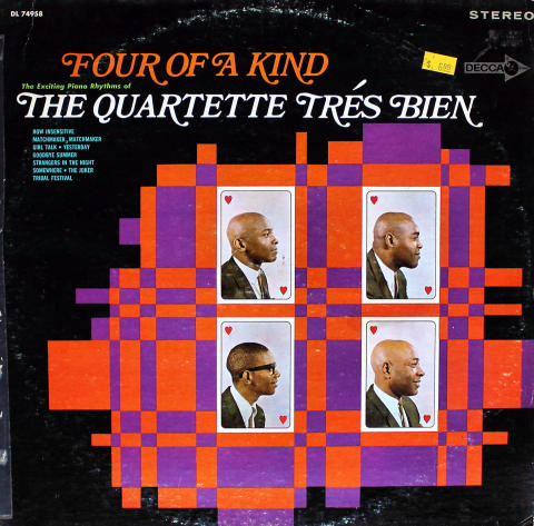 """The Quartette Tres Bien Vinyl 12"""""""