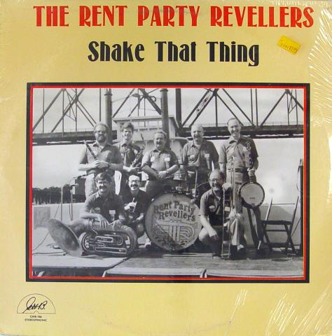 "The Rent Party Revellers Vinyl 12"""