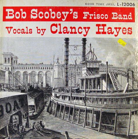 "Bob Scobey's Frisco Band Vinyl 12"""
