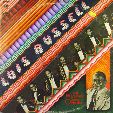 """Luis Russell And His Louisiana Swing Orchestra Vinyl 12"""""""