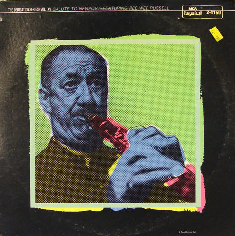 """The Dedication Series/Vol XV Salute To Newport:  Featuring Pee Wee Russell Vinyl 12"""""""