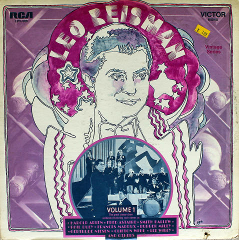 "Leo Reisman Vinyl 12"""