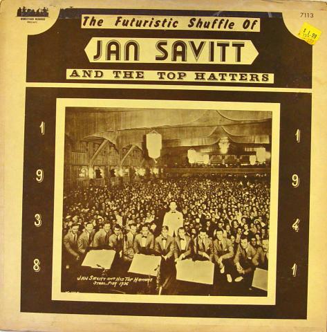 "Jan Savitt And The Top Hatters Vinyl 12"""