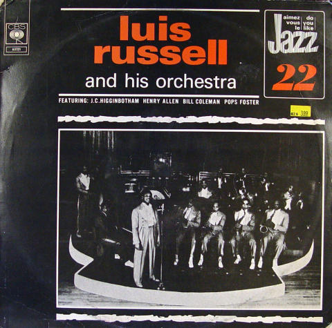 """Luis Russell And His Orchestra Vinyl 12"""""""