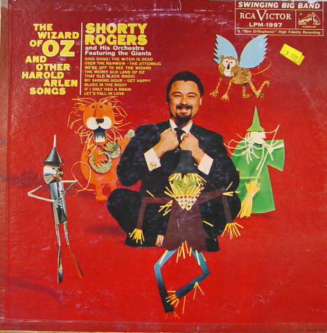 """Shorty Rogers And His Orchestra Vinyl 12"""""""