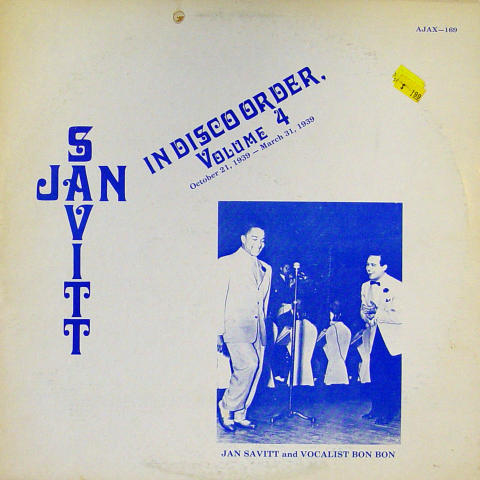 Jan Savitt Vinyl 12""