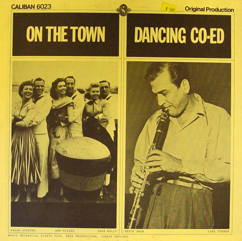 """On The Town / Dancing Co-Ed Vinyl 12"""""""