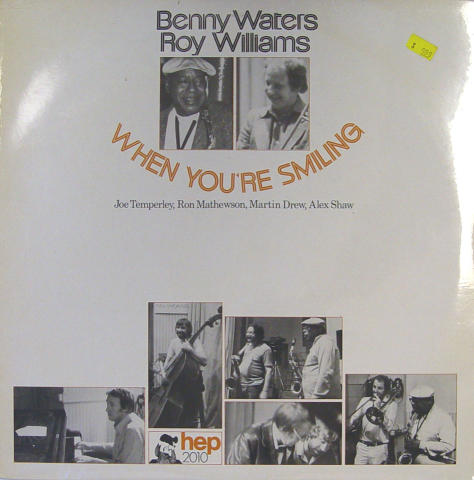 Benny Waters / Roy Williams Vinyl 12""