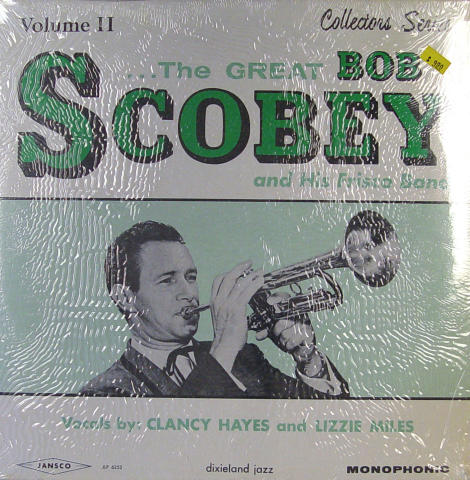 Bob Scobey And His Frisco Band Vinyl 12""