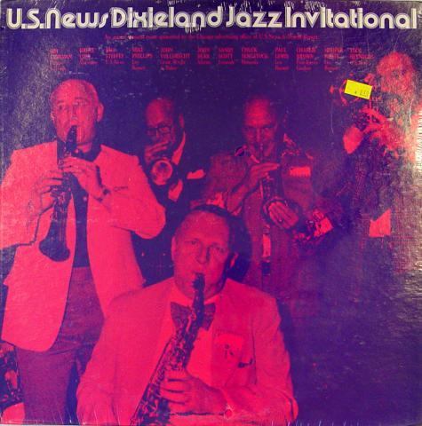 "U.S. News Dixieland Jazz Invitational Vinyl 12"""