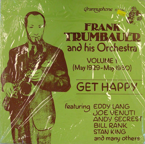 """Frank Trumbauer And His Orchestra Vinyl 12"""""""