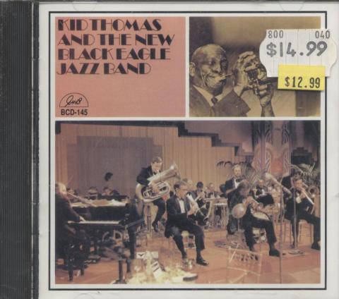 Kid Thomas And The New Black Eagle Jazz Band CD