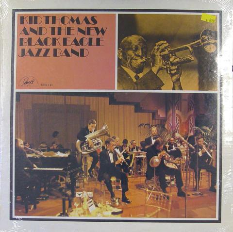 "Kid Thomas And The New Black Eagle Jazz Band Vinyl 12"""
