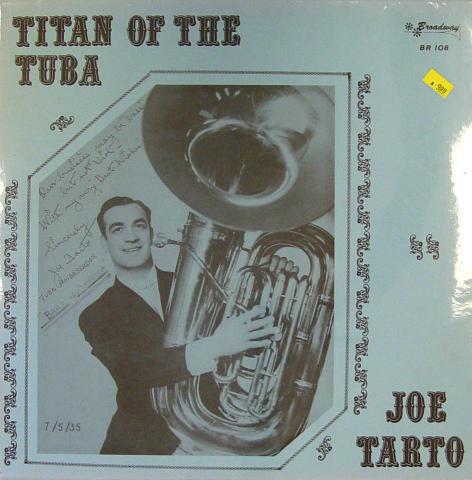"Joe Tarto Vinyl 12"""