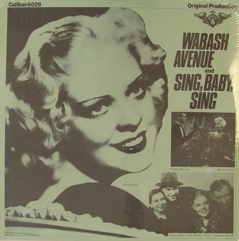 Wabash Avenue And Sing, Baby, Sing Vinyl 12""