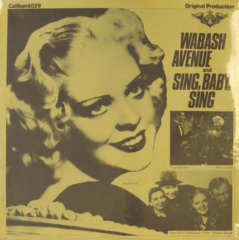 "Wabash Avenue And Sing, Baby, Sing Vinyl 12"""