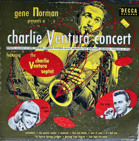 """The Charlie Ventura Septet Vinyl 12"""""""