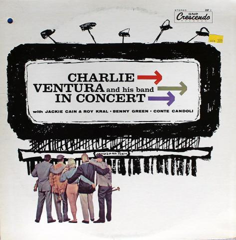 """Charlie Ventura And His Band Vinyl 12"""""""