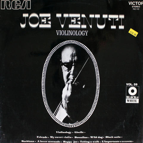 """Joe Venuti Vinyl 12"""""""