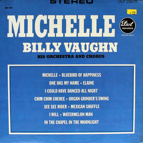 Billy Vaughn Vinyl 12""