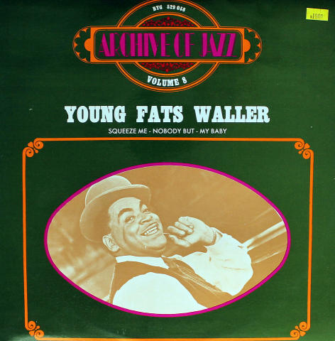 Young Fats Waller Vinyl 12""