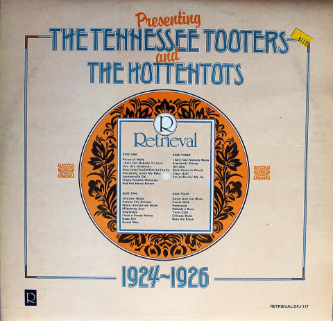 """The Tennessee Tooters Vinyl 12"""""""