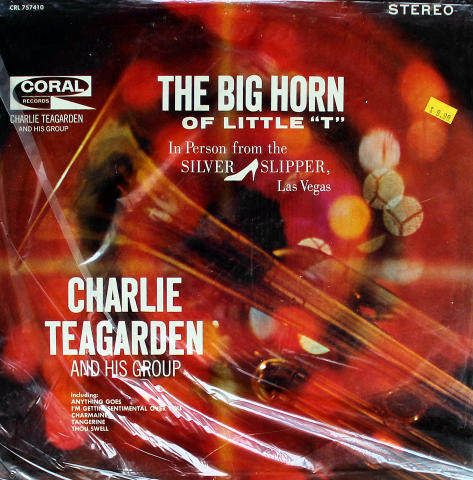 Charlie Teagarden And His Group Vinyl 12""