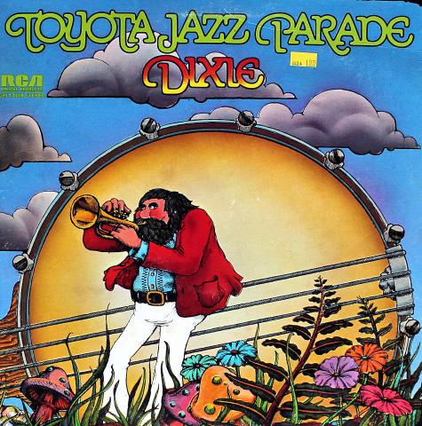 "Toyota Jazz Parade: Dixie Vinyl 12"""