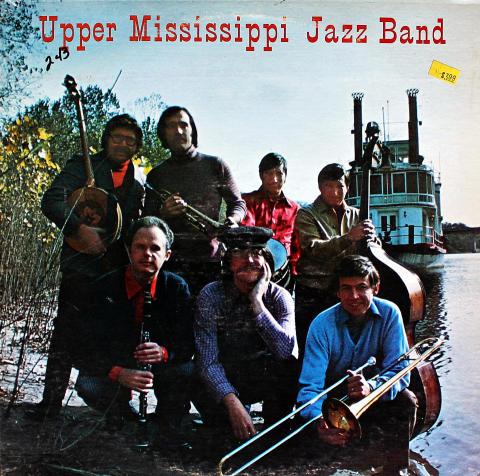 "The Upper Mississippi Jazz Band Vinyl 12"""