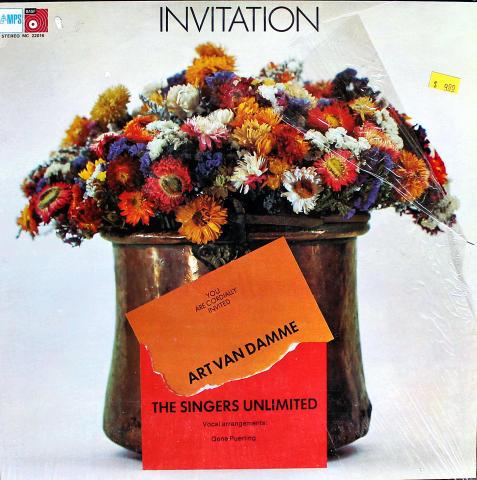 "Art Van Damme / The Singers Unlimited Vinyl 12"""