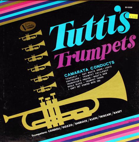 """Tutti's Trumpets Vinyl 12"""""""