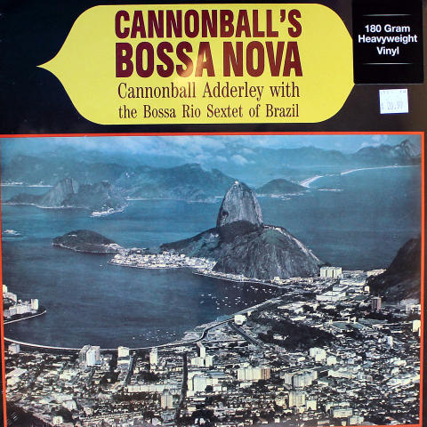 """Cannonball Adderley With The Bossa Rio Sextet Of Brazil Vinyl 12"""" (New)"""