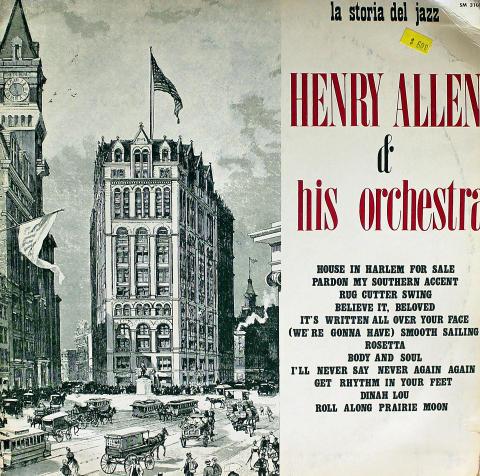 """Henry Allen & His Orchestra Vinyl 12"""""""