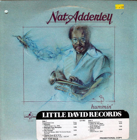 "Nat Adderley Vinyl 12"""