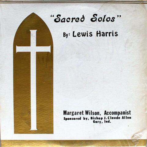 """Lewis Harris Vinyl 12"""""""