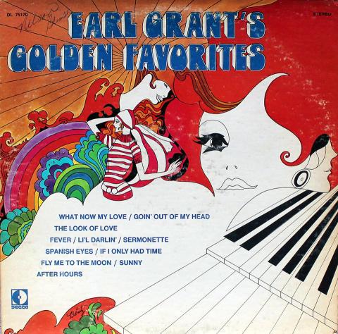 "Earl Grant Vinyl 12"""