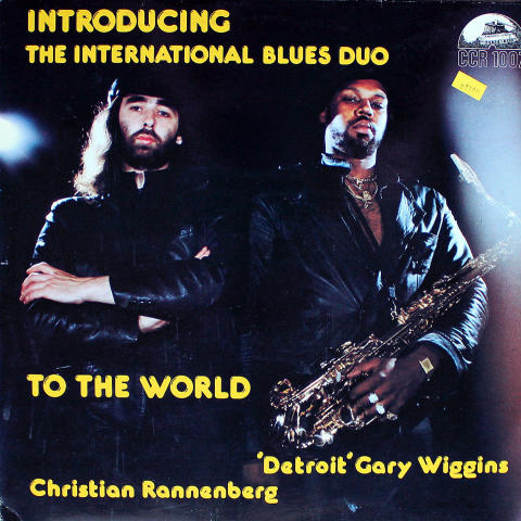 "The International Blues Duo Vinyl 12"""