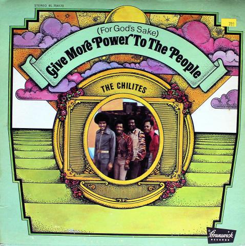 "The Chi-Lites Vinyl 12"""