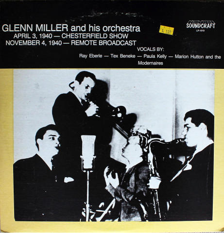"Glenn Miller and His Orchestra Vinyl 12"" (Used)"