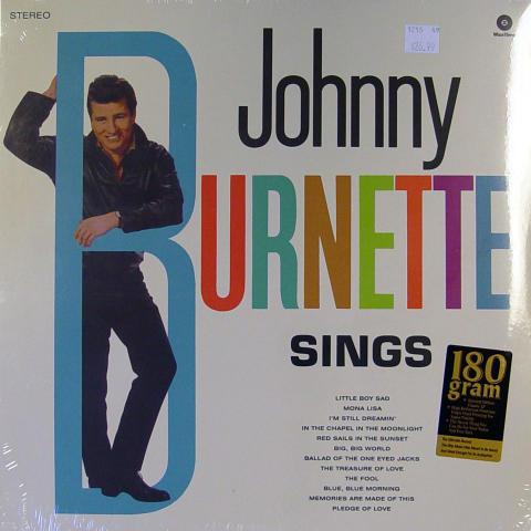 """Johnny Burnette Vinyl 12"""""""