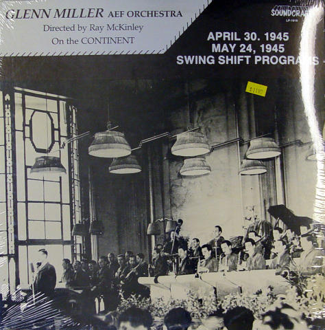 """Glenn Miller AEF Orchestra Vinyl 12"""""""