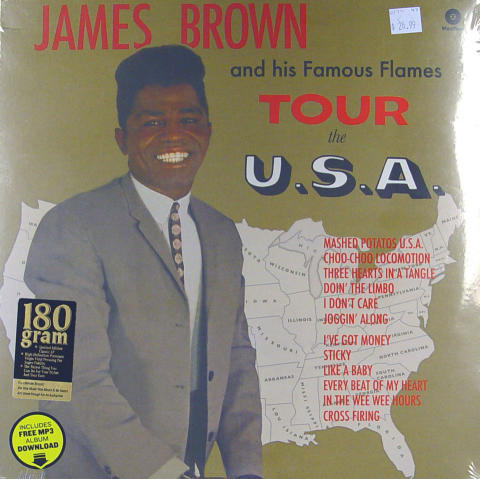 James Brown And His Famous Flames Vinyl 12""