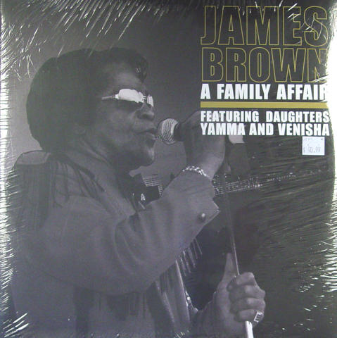 James Brown Vinyl 12""
