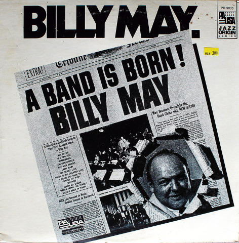 "Billy May Vinyl 12"""