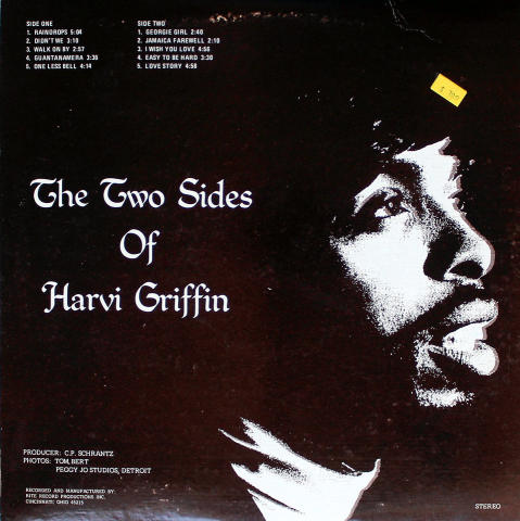 "Harvi Griffin Vinyl 12"""